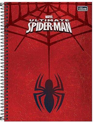 Caderno Homem-Aranha Capa Dura 10 Materias