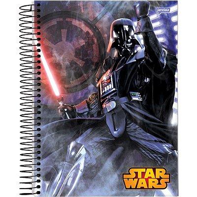 Caderno Star Wars Capa Dura 15 Materias