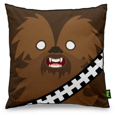 Almofada Geek Side Faces - Chewie