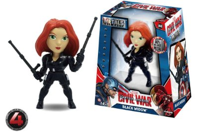 METAL DIE CAST - CIVIL WAR BLACK WIDOW