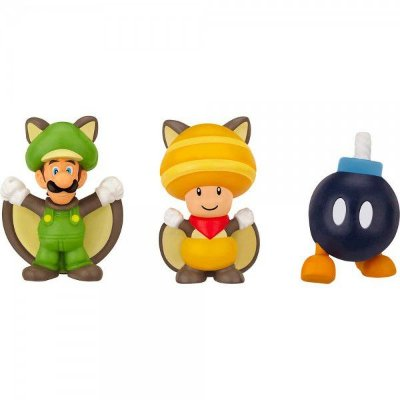 MICRO LAND - FLYING SQUIRREL LUIGI + TOAD + BOB-OMB