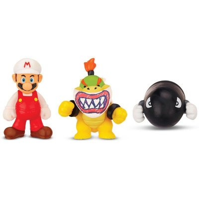 MICRO LAND - FIRE MARIO + BOWSER JR + BULLET BILL