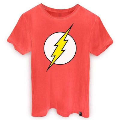 CAMISETA The Flash Classic Logo