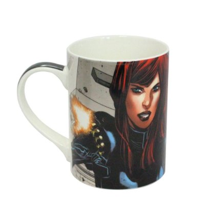 CANECA DREAM MUG BLACK WIDOW MARVEL