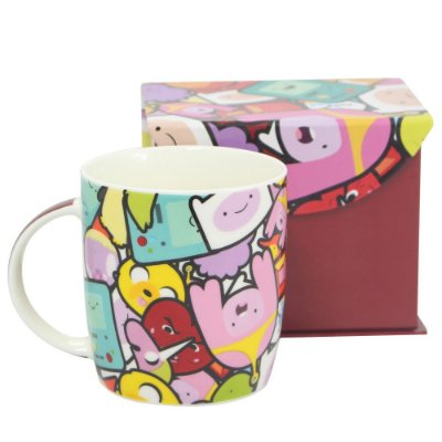 CANECA BONE CHINA HORA DA AVENTURA