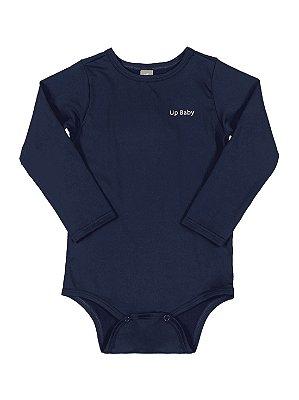 Body para Bebê Up Baby Longa Surfista FPS UV50 Azul Marinho