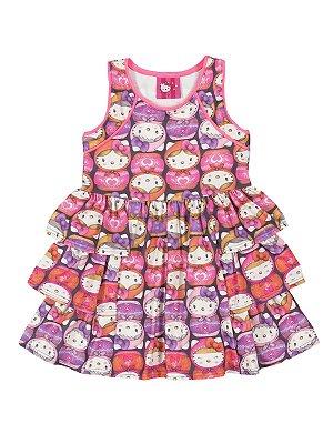 Vestido Mamuskas Hello Kitty