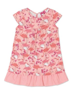 Vestido Flamingos Hello Kitty