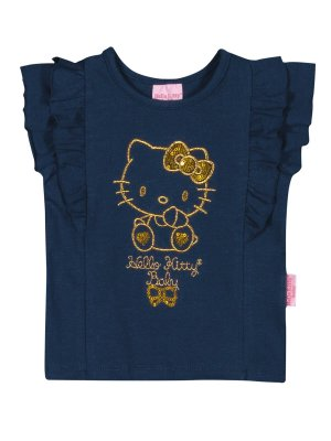 Blusa em Cotton Light Baby Hello Kitty