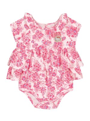 Body Vestido Floral Baby Hello Kitty