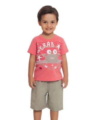 Conjunto Camiseta e Bermuda Mr Crab Loopy de Loop