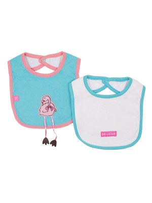 Kit Babador Flamingos Turquesa Be Little