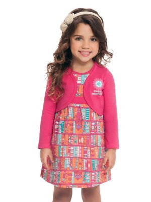 Vestido Sweet Moment com Bolero Loopy de Loop