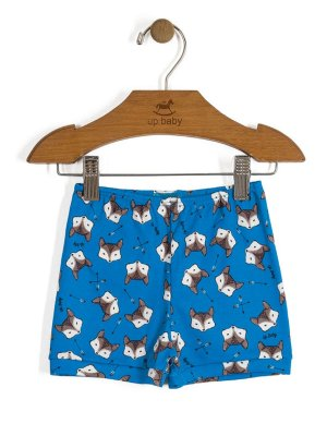 Short Vintage Fox Azul Up Baby