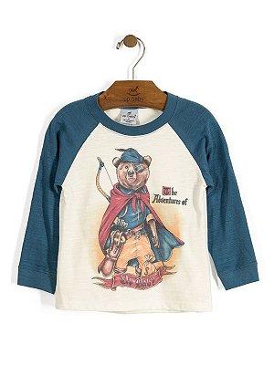Camiseta Manga Longa Arqueiro Up Baby