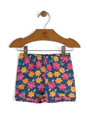 Short Shine Floral Azul Up Baby