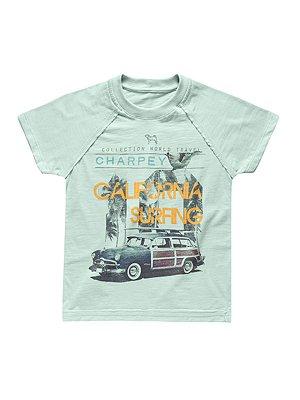Camiseta Califórnia Surfing Manga Curta Charpey