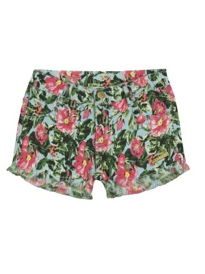 Short em Sarja Floral Quimby