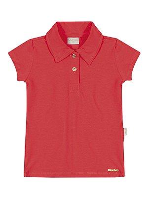 Camisa Polo em Cotton Light Básica Várias Cores Quimby