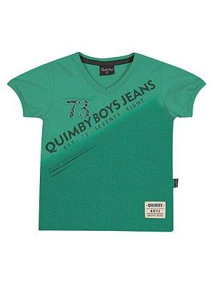 Camiseta 73 em Meia Malha Manga Curta Quimby