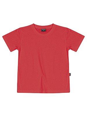 Camiseta Básica Várias Cores Meia Malha Manga Curta Quimby