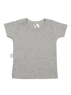 Camiseta Básica Várias Cores Manga Curta em Algodão Be Little