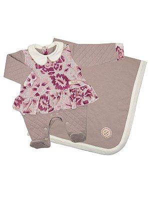 Saída de Maternidade Cherry Blossom Be Little
