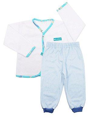 Pijama Pluminha Wessel Azul Be Little