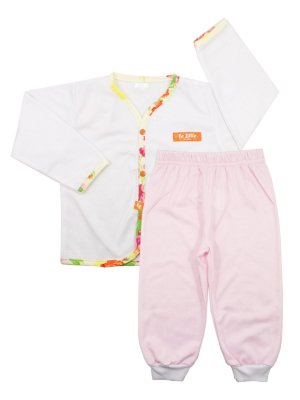Pijama Pluminha Wessel Rosa Be Little