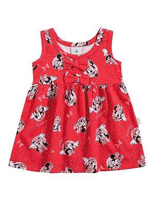 Vestido em Meia Malha de Alças Minnie Brandili