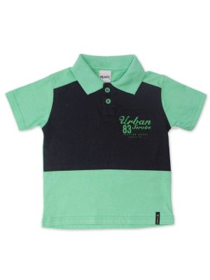 Camisa Polo em Malha Urban Kiwi Minore