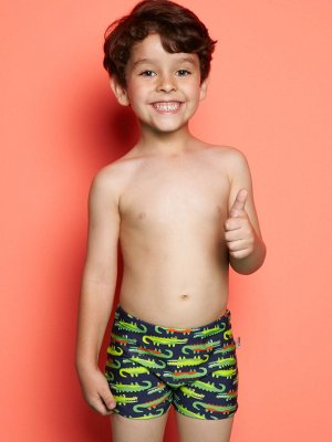 Sunga Boxer Infantil Jacaré Puket