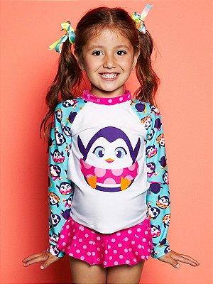 Camiseta FPS 50 Infantil Pinguim Puket