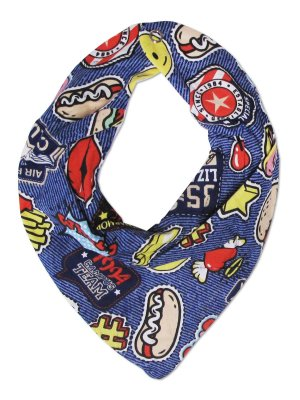 Babador Bandana Petit&Co Hot Dog