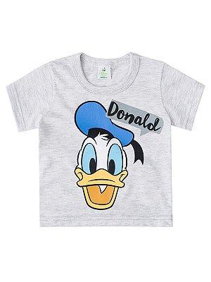 Camiseta Brandili Curta Donald Cinza