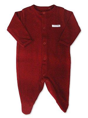 Macacão Mini Baby Longa Vermelho