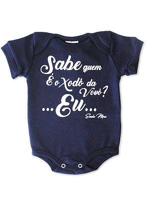Body Divertido para Bebê Sonho Meu Xodó da Vovó Marinho