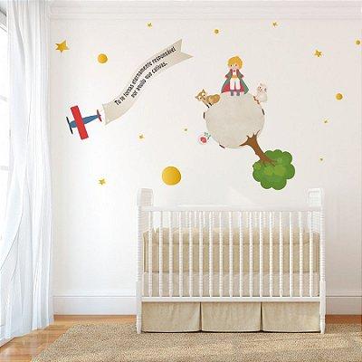 Adesivo de Parede Stixx Decorativo Infantil Pequeno Príncipe