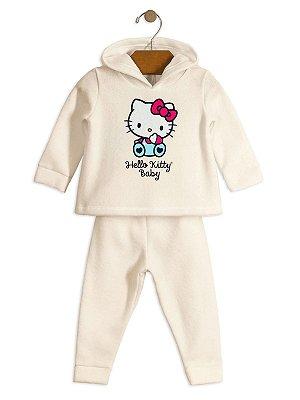 Conjunto Hello Kitty Baby 2 peças Soft Creme