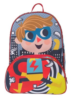 Mochila Escolar Ó Design Infantil Herói