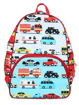 Mochila Escolar Ó Design Infantil Carros