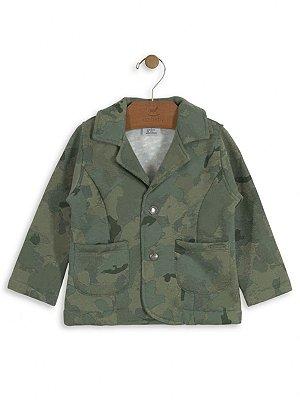 Blaser Up Baby em Moletom Infantil Militar Verde