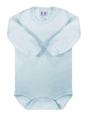 Body para bebê RoseBud Longa Soft Glacê Peluciado