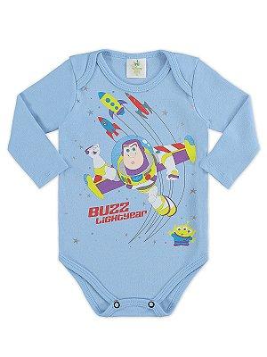 Body para Bebê Marlan Longa Buzz Lightyear