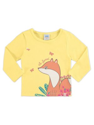 Blusa Marlan Manga Longa So Sweet Fox
