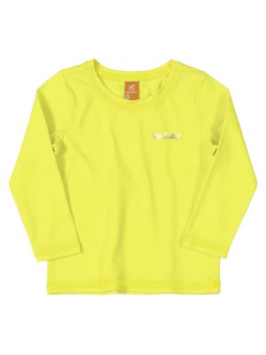 Camiseta Surfista Up Baby Longa FPS Amarelo Fluor