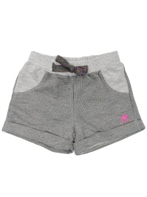 Short Up Baby Moletom Cinza
