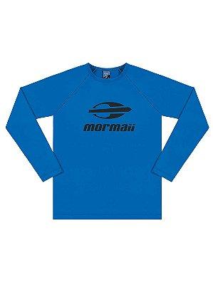 Camiseta Surfista Marlan Mormaii Longa FPS Azul