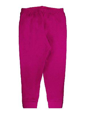 Legging RoseBud Infantil Ultramicro Thermo Peluciado Pink