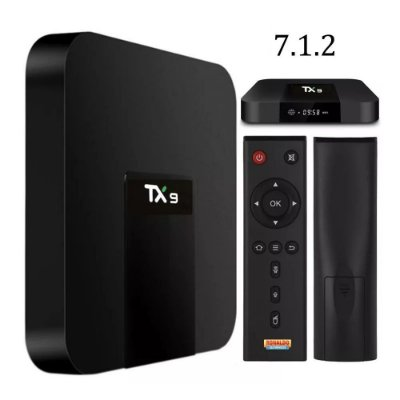 Tv Box Tx9 Androide 2gb Ram 16 Gb Rum Google, Youtube, Netflix